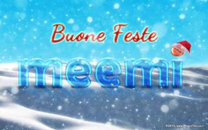 Buone Feste Meemi 2011 by Ragnarokkr79