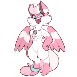 Winged Wolf by sketchyemi