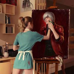 Painting is alive by Neskvik