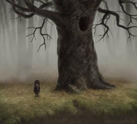 Hedgehog in the Fog by Neskvik