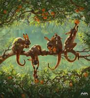 Breakfast on the tree by Neskvik