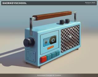 Cassette player by Neskvik