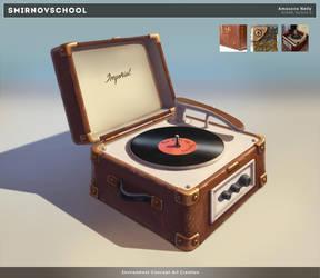 Record player by Neskvik