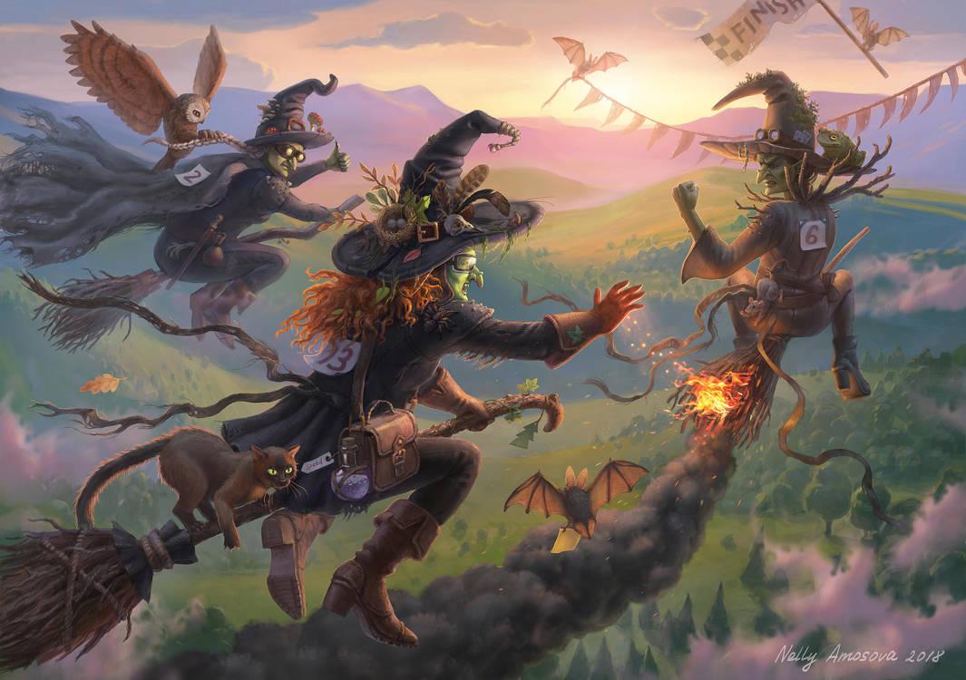 Witch race by Neskvik