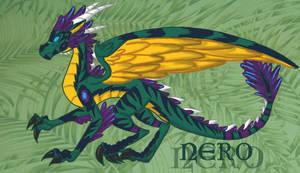 Dragon!Nero- Colored by Lost-in-Legends