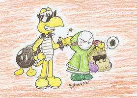 Minor Leaguers by Mister-Saturn