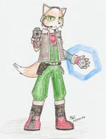Fox McCloud by Mister-Saturn