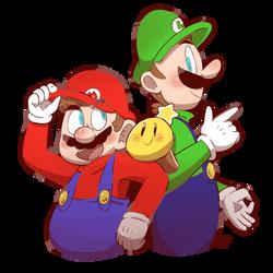 Them Bros by Mister-Saturn