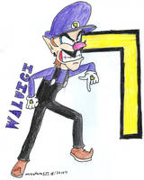 Waluigi by Mister-Saturn