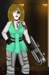 Erin brings the guns by Vault44