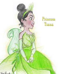 Princess Tiana by hobbit-O-giggles