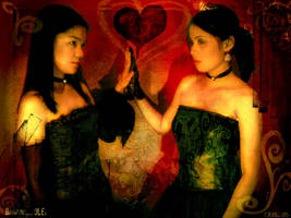 gothic sisters by olei