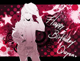 Happy Birthday Quyennn by f-wd