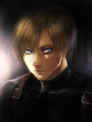 Resident Evil: Leon S. Kennedy by f-wd