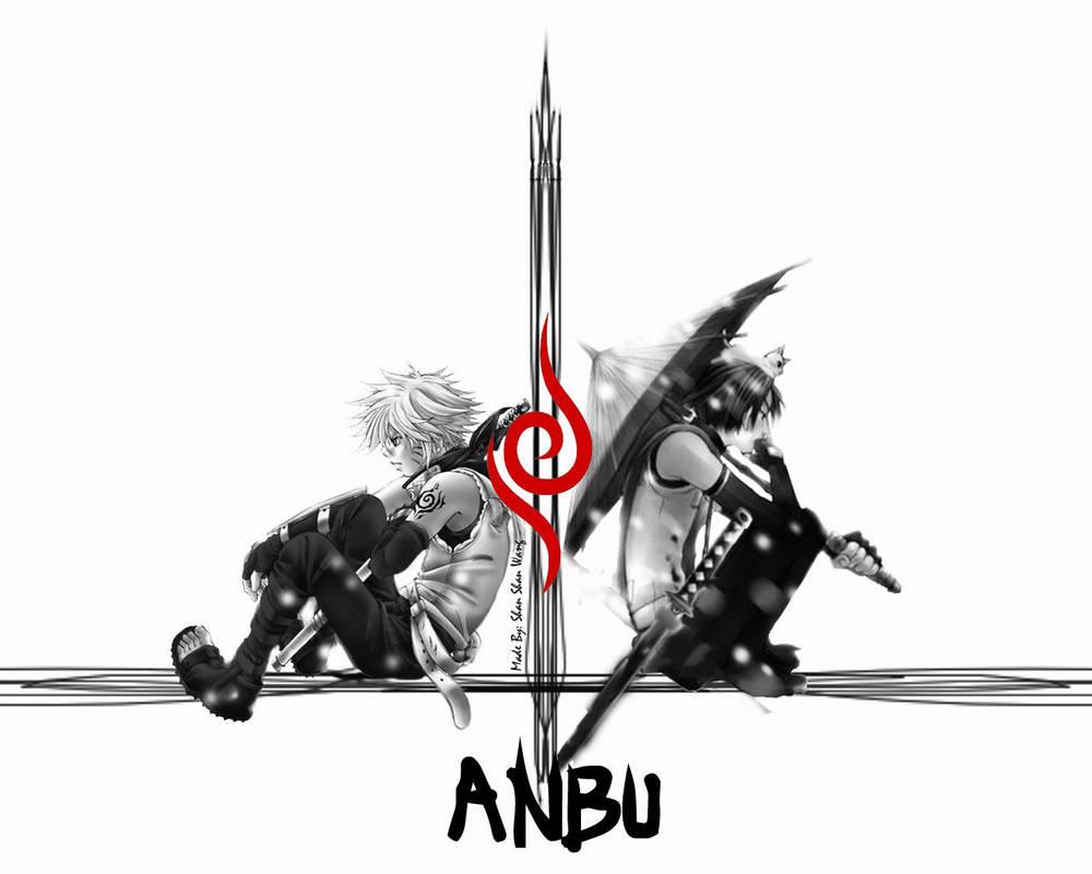 Anbu Sasuke And Naruto By Uchihashadow On Deviantart