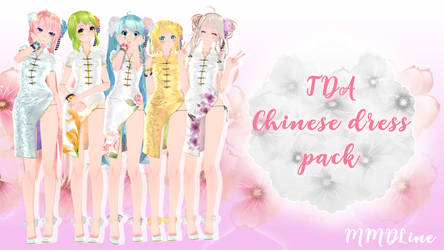 TDA Chinese dress pack DL by xLineChu