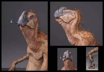 Vulturtle Detail by DoctorRat