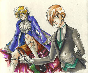One Hell of a Butler by LinkWorshiper
