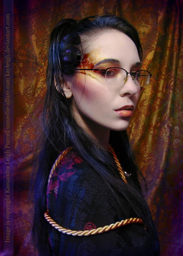Saffron Ume. by KassandraLeigh