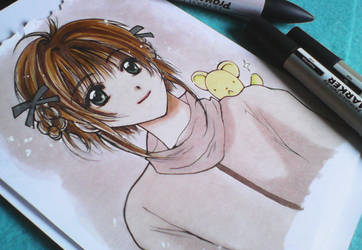 Cardcaptor Sakura Fanart by yoolin