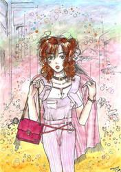 You have finally noticed... (OC Haruna) by yoolin