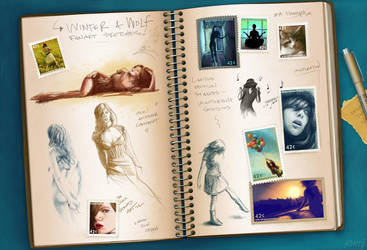 WW Fanart Sketchbook by mynti