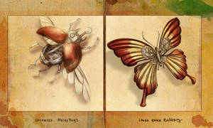 Sketch - Prints for Lit Bugs by mynti