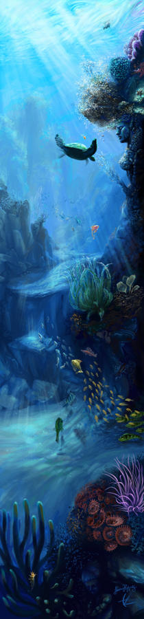Mother Reef by mynti
