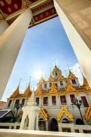 Wat Ratchanatdaram Woravihara Loha Prasat -2 by Tairenar