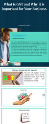 What is GST and Why it is Important for Your Busin by isghulati