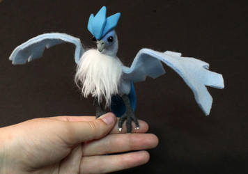 Posable art doll: Articuno- SOLD by superayaa