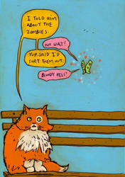 Cat chat by truds
