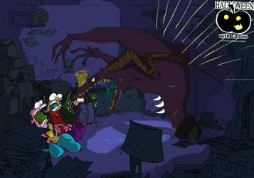 Halloween with Ed, Edd n Eddy by VampireMeerkat