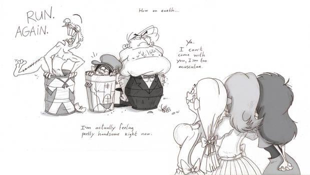 Ed Edd n Eddy getting married by VampireMeerkat