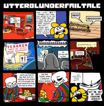 UTTERBLUNDERFAILTALE by VampireMeerkat