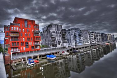 Westhafen FFM by Aerostylaz