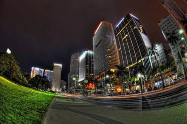 Downtown Miami 2 by Aerostylaz