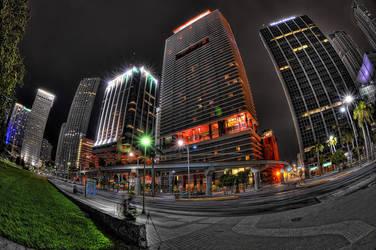 Downtown Miami 3 by Aerostylaz