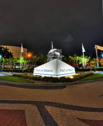 Port of Miami by Aerostylaz