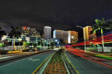 Downtown Miami 4 by Aerostylaz