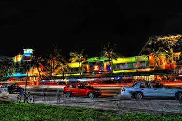 South Beach, Miami 1 by Aerostylaz