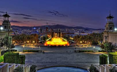 Barcelona III by Aerostylaz