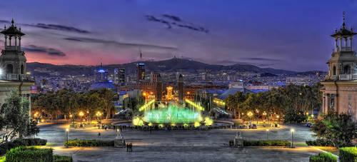 Barcelona V by Aerostylaz