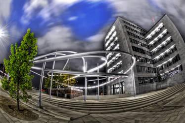 Hamburg Speicherstadt by Aerostylaz