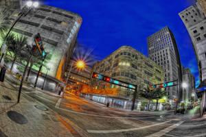 Downtown Miami III by Aerostylaz
