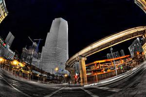 Downtown Miami V by Aerostylaz