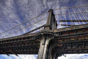 Manhatten Bridge IV by Aerostylaz