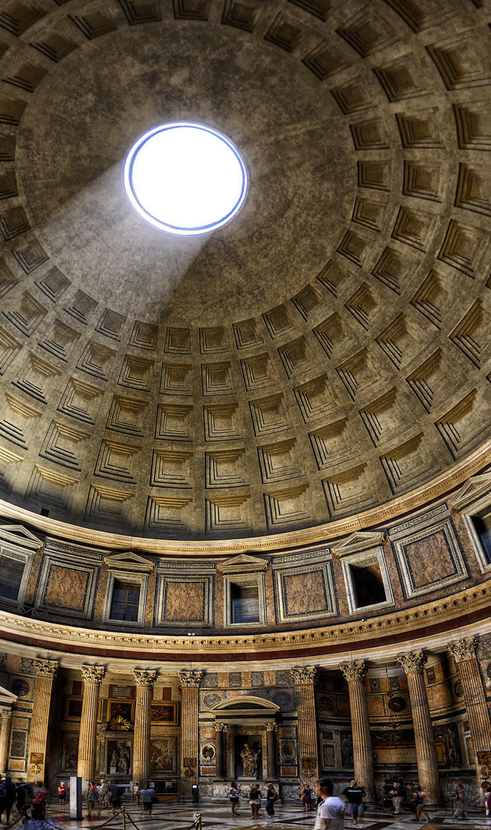 Pantheon, Rom by Aerostylaz