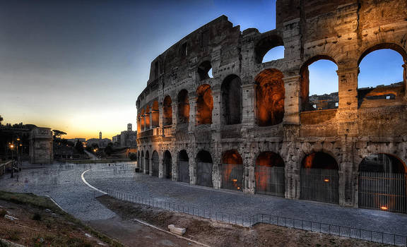 Collosseum, Rom I by Aerostylaz