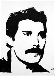 Freddie Mercury by JOrte